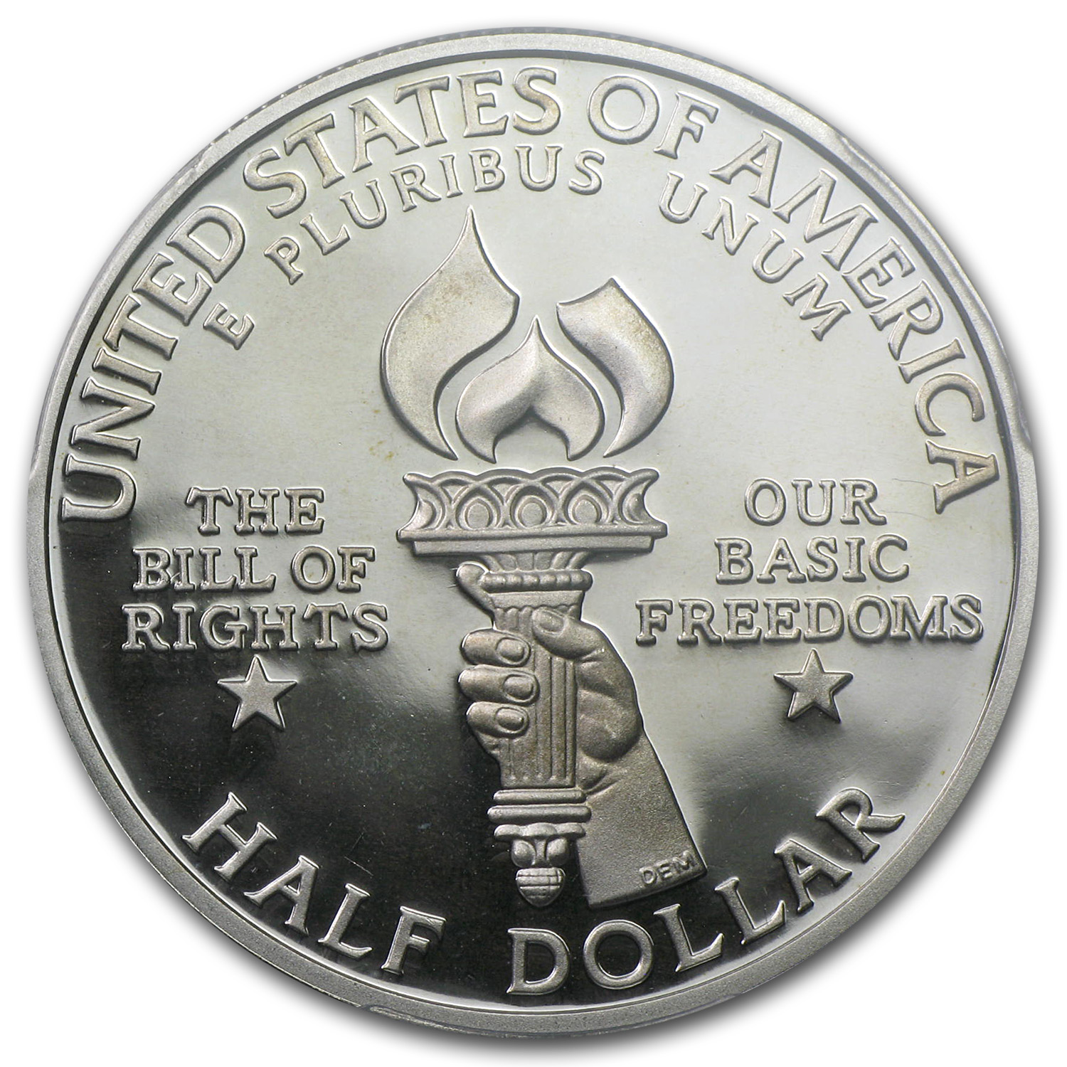 1993-S Bill of Rights Half Dollar Silver Commem PR-69 DCAM PCGS